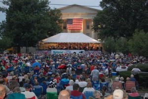 July Third Philharmonic concert